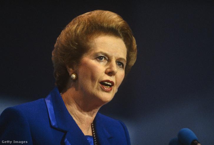 Margaret Thatcher 1990-ben
