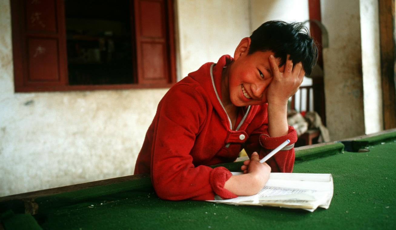 tibeti gyerek