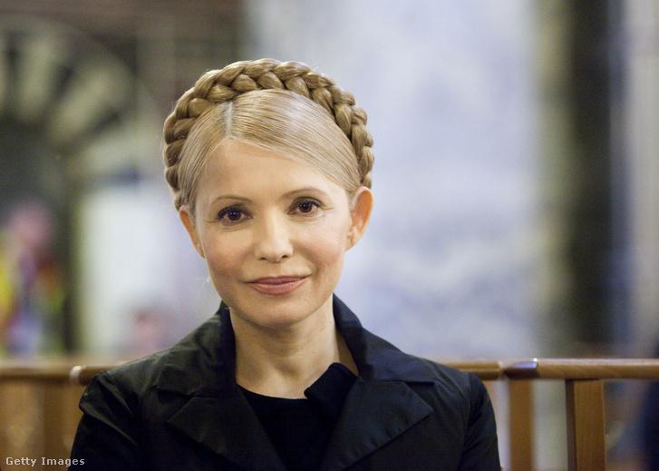 Julija Timosenko kontya 2007-ben