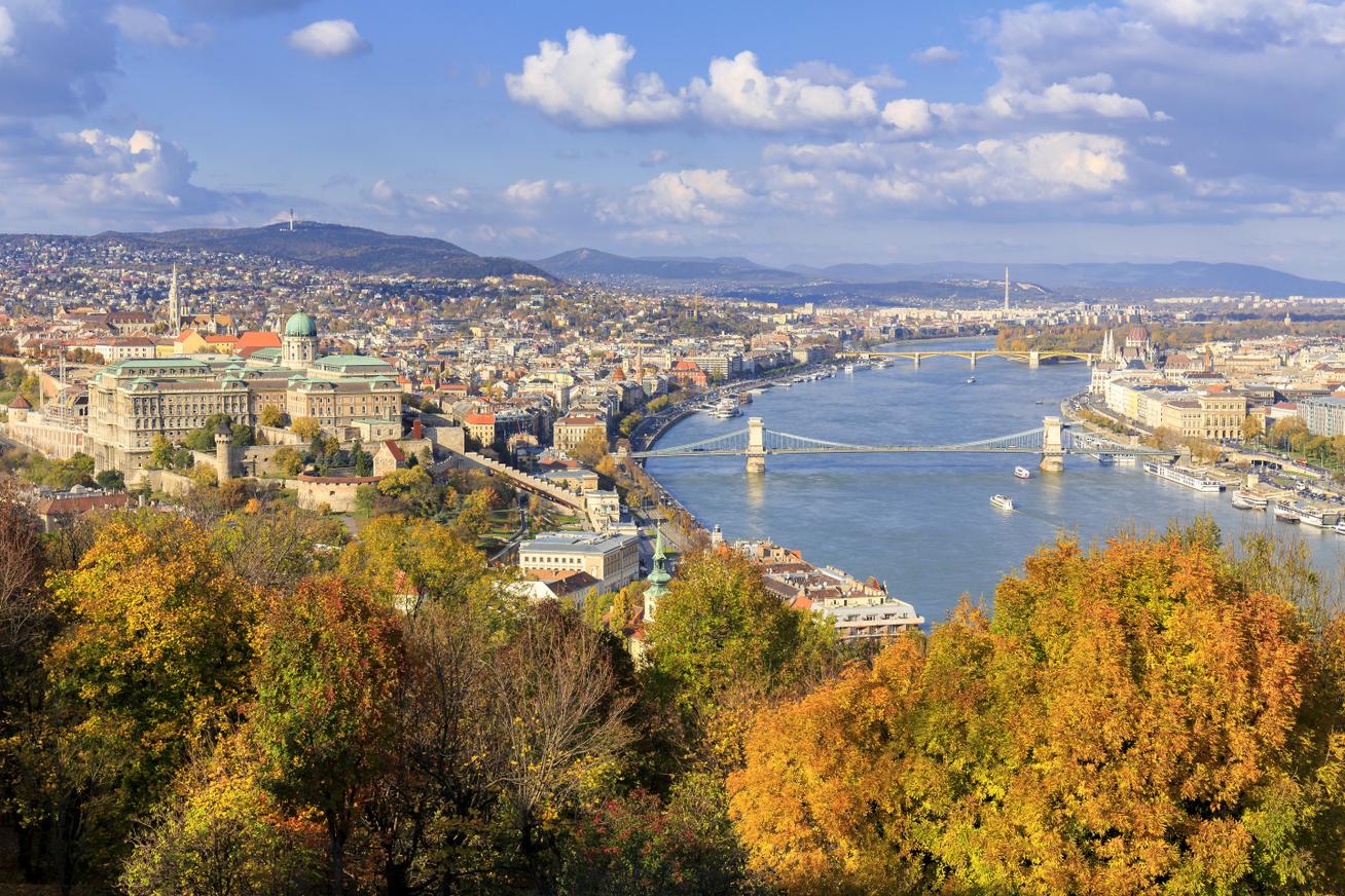 budapest ősz