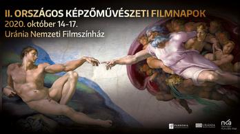 Képzőművészeti Filmnapok kezdődtek az Urániában