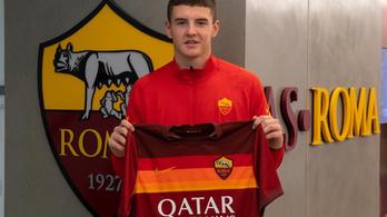 Az AS Roma kapusa lesz a 17 éves Megyeri Gábor