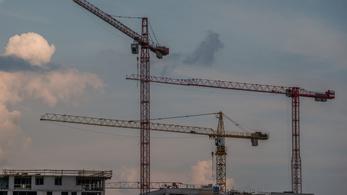 Jelentőset zuhant az építőipar
