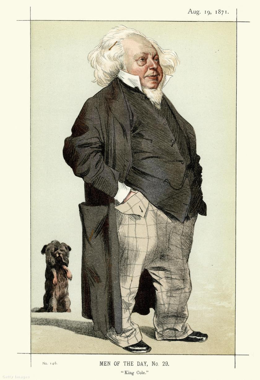 Sir Henry Cole portréja 1871-ből.
