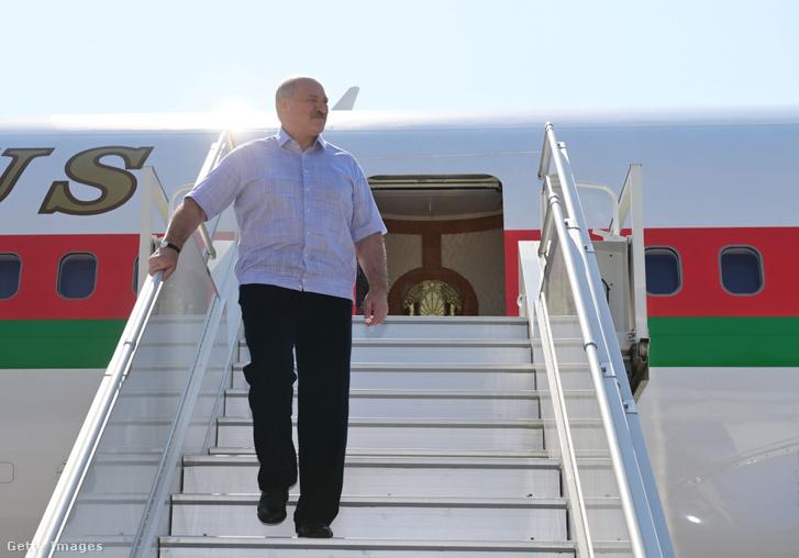 Alexander Lukasenko Szocsiban 2020. szeptember 14-én.