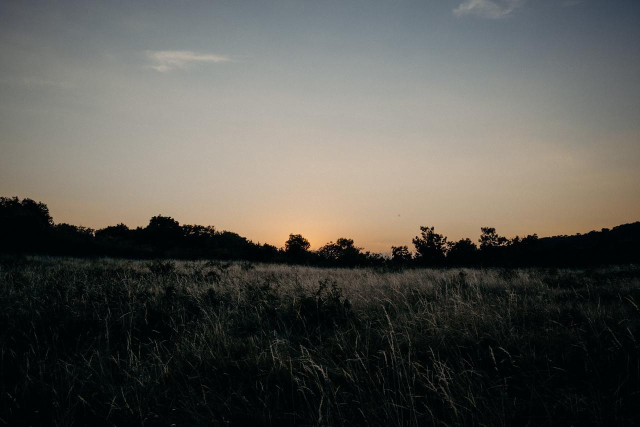 Hűvösödik. Itt az ősz. Amikor a gulya fent legel a gerincen, Ferenc gyakran kint éjszakázik. Vigyáz rájuk.