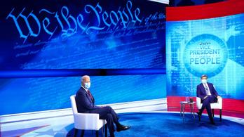 Biden előbújt az alagsorból, Trump csak a radikális baloldalt ismeri