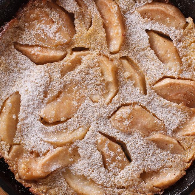 Sütőben sült almás palacsinta, ez a dutch baby - Nagyon könnyű és habos a tésztája