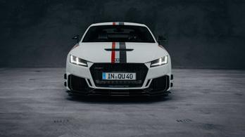 Szuperdrága Audi TT-vel emlékeznek a Quattro születésnapjára