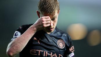 Négy meccsről is lemaradhat a Manchester City kulcsjátékosa