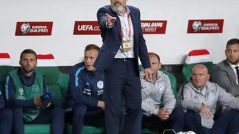 Menesztették a szlovák labdarúgó-válogatott szövetségi kapitányát