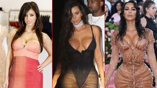 Kim Kardashian elérkezett a 40-hez, a legerősebb fotóival ünnepeljük a szülinapját