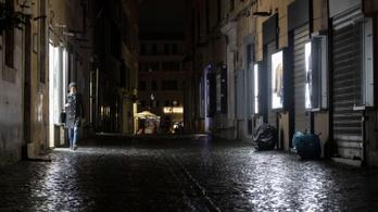 Ne menjen senki az utcára Olaszországban, ajánlja az orvosszövetség