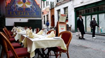 Belgiumban bezárnak a vendéglátóhelyek, éjszakai kijárási tilalmat vezetnek be