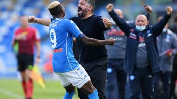 Esélyt sem adott Gattuso Napolija az Atalantának