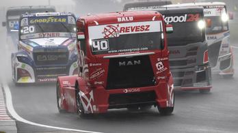 Kiss Norbert nyerte a kamionosok második futamát a Hungaroringen