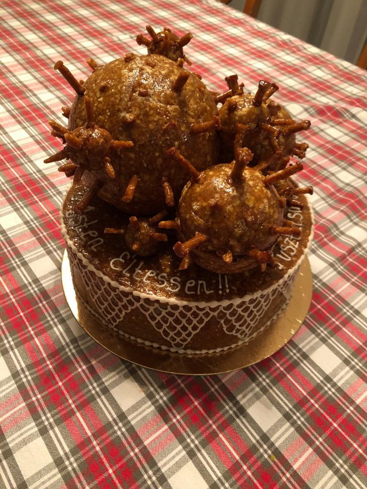 koronavirus torta