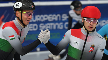 Megvan a magyar csapat a rövidpályás gyorskorcsolya vb-re