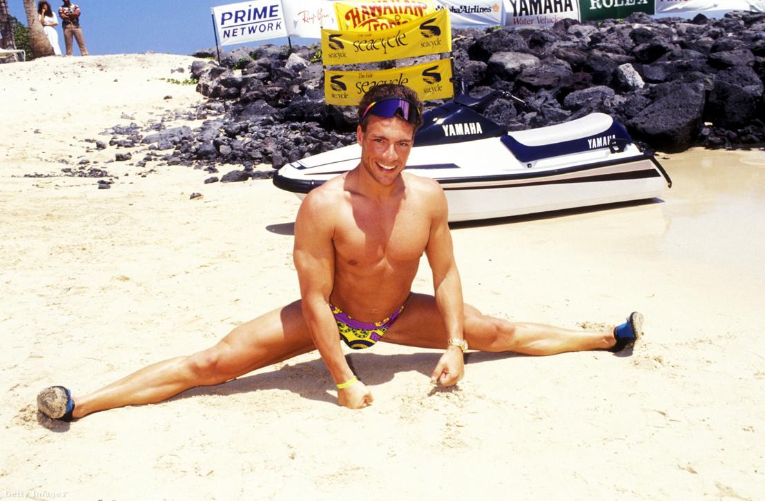 Jean-Claude Van Damme 1991-ben.