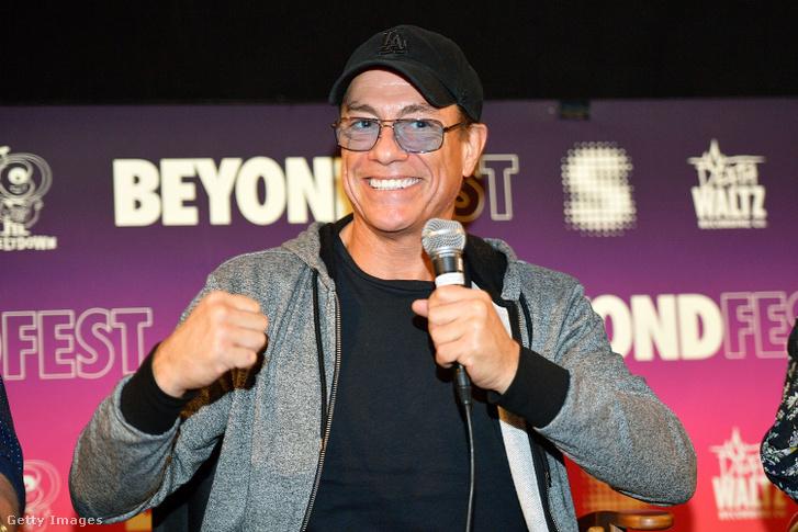 Jean-Claude Van Damme 2017-ben.