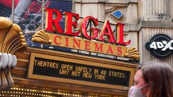 Nyitnak az amerikai mozik
