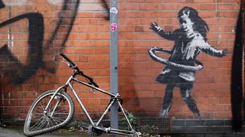 Banksy-alkotás bukkant fel Nottinghamben