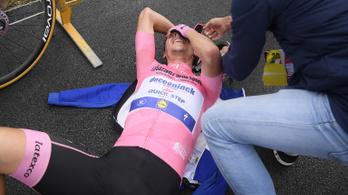 Óriásit küzdött és megtartotta a rózsaszín trikót Joao Almeida