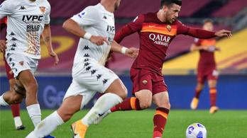Ötgólos meccsen győzött a Roma