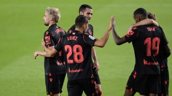 Győzött és átvette a vezetést a La Ligában a Real Sociedad