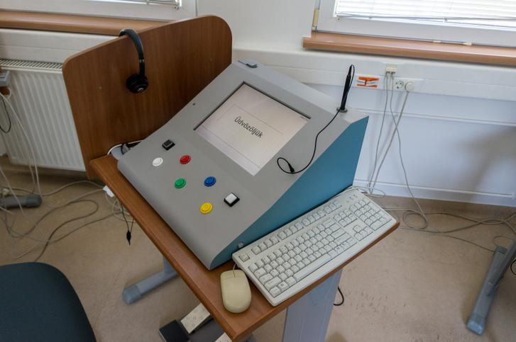 A PÁV gyakorlati tesztjét ilyen gépeken csinálják