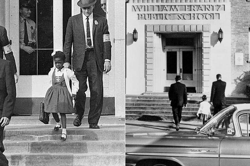 Őrök vigyázták a 6 éves kislány épségét, amíg bejutott az iskolába - Csak egy tanára nem tagadta meg tőle az oktatást