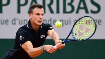 Fucsovics és Balázs Attila is visszacsúszott a világranglistán