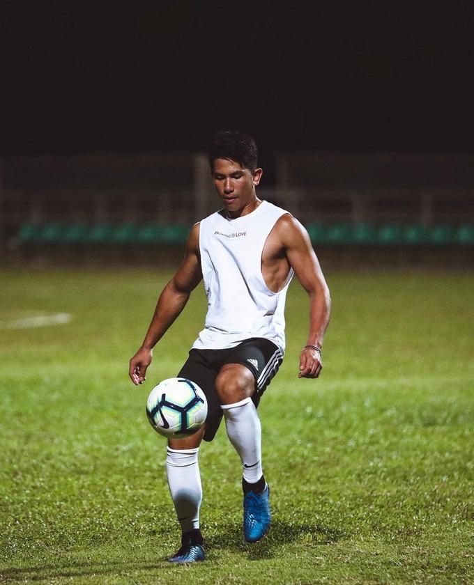 A gyerekkori sportoló példaképe Beckham volt
