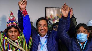 A bolíviai elnökválasztáson a baloldal jelöltje nyerte az első fordulót