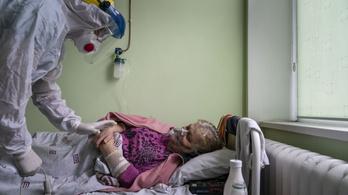 Ukrajnában egyre súlyosabb a járványhelyzet