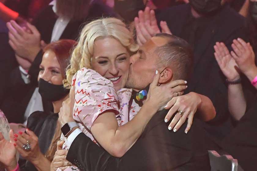 Marsi Anikót a nézők előtt csókolta meg Palik László - Erre még nem volt példa