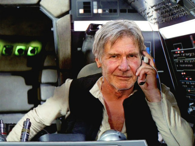 star wars  han solo is old