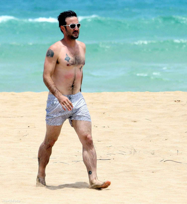 David Arquette pár évvel ezelőtt még így nézet ki a strandon