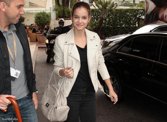 Palvin Barbara civilben érkezik a 2012-es Cannes-i filmfesztivál egyik eseményére