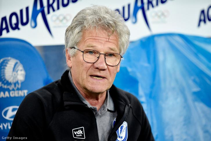 Bölöni László még a Gent vezetőedzőjeként 2020. augusztus 30-án