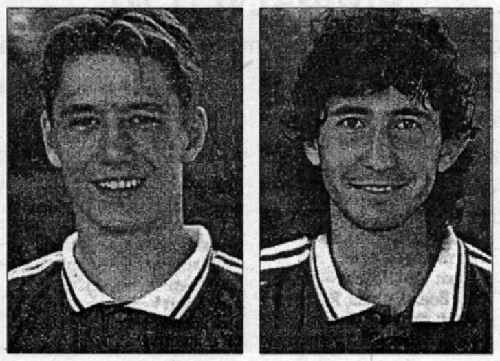 Vincze Ottó és Lisztes Krisztián. Forrás: Szegedi Napló 1995. szeptember 107. szám / Arcanum adatbázis