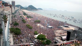 A koncert, ahol 3,5 millió ember üvöltött együtt az énekessel