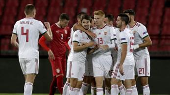 Nemzetek Ligája: Kilenc helyet lépett előre a magyar válogatott