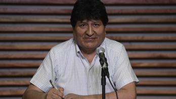 Hazatérne Bolíviába Evo Morales