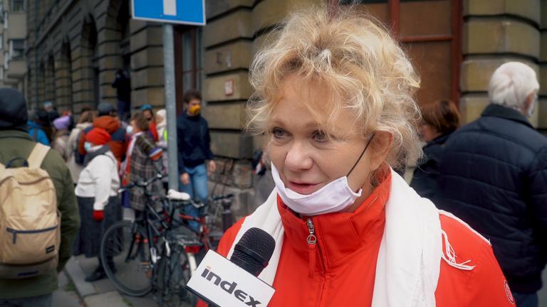 Básti Juli az SZFE-ügyről: Nincs ott helyük ezeknek a betolakodóknak