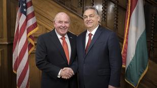Cornstein: Trump meglátogathatja Orbán Viktort, ha nyer a választáson
