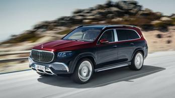 Már a Mercedes-Maybachnak is lett luxusterepjárója