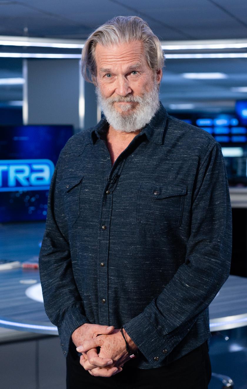Jeff Bridges 2019 decemberében az EXTRA című műsorban.