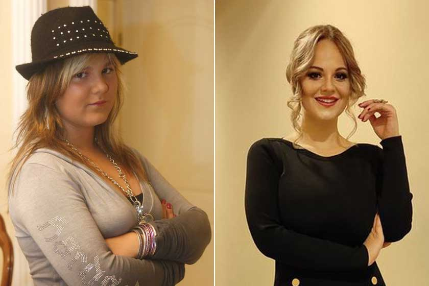 Fásy Zsüliett duci lányból nádszálkarcsú nő lett - Több mint 40 kilót fogyott