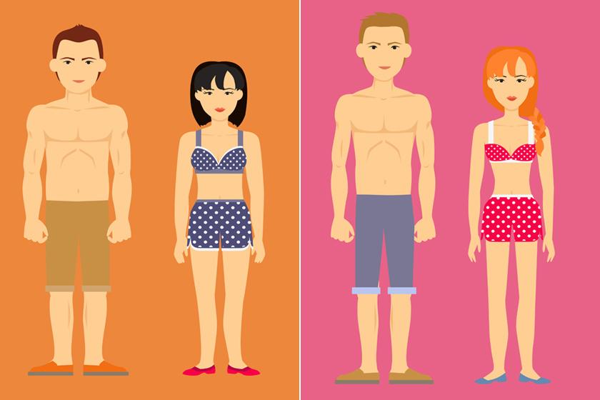 Melyik alkat hogyan égeti a zsírt? Így egyél és eddz a testalkatod szerint